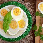 کاهش وزن سریع با رژیم تخم مرغ