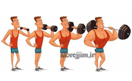رژیم افزایش وزن بدن