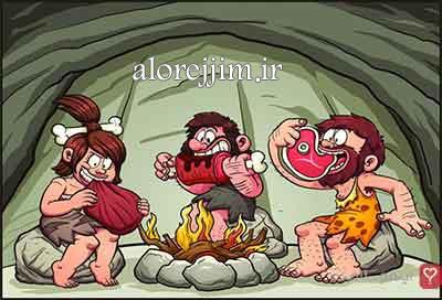 رژیم لاغری غارنشین
