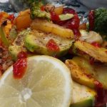 غذای رژیمی | خوراک میگو و سبزیجات رژیمی | کلینیک رژیم